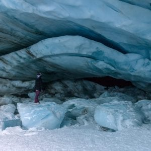 Blackcomb Glacier Ice Cave