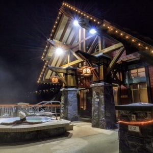 Nita Lake Lodge Hot Tub