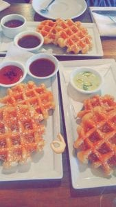 Crystal Hut Waffles