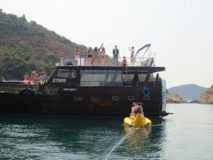 Exploring Hong Kong on a Junk Boat