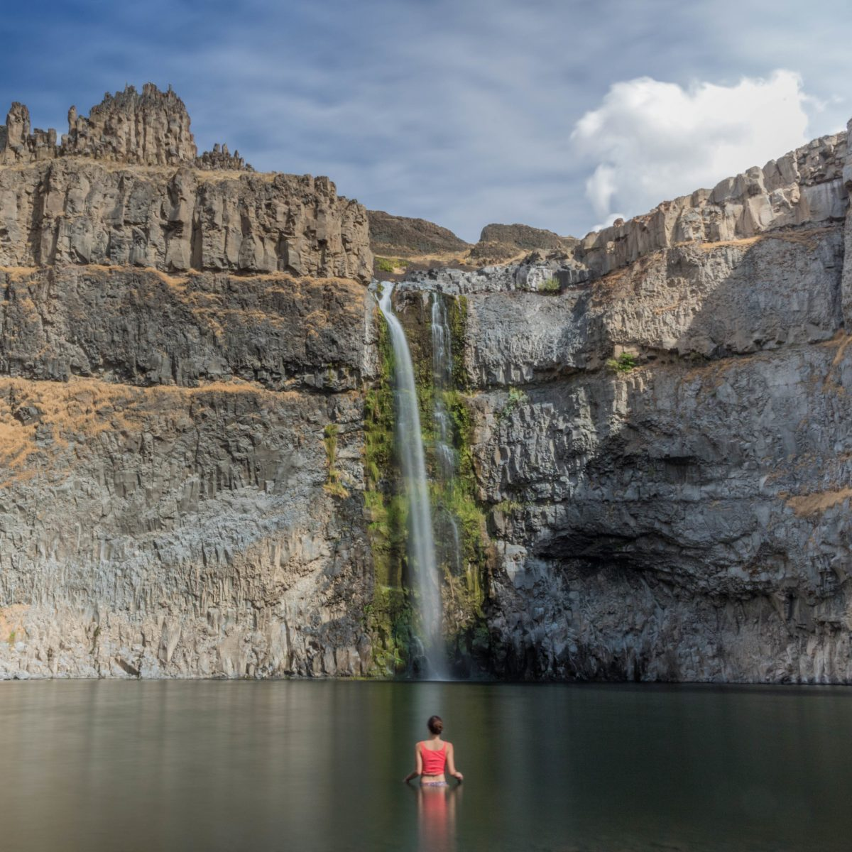 Palouse Falls pool