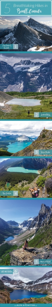 Top 5 Hikes in Banff