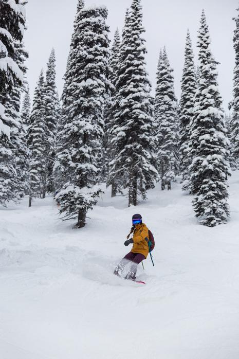 Revelstoke snowboarding