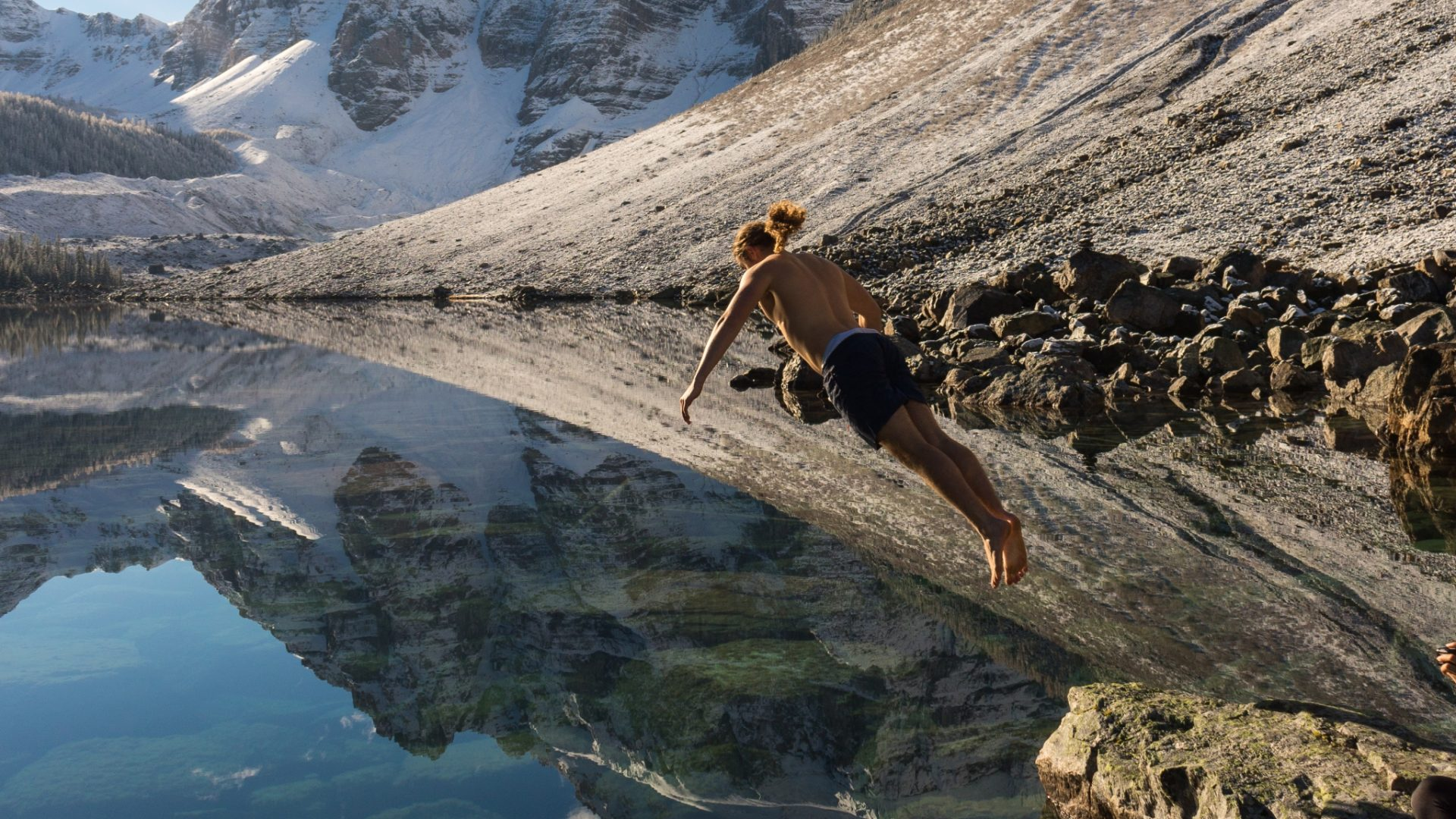 Consolation Lakes Hike swim
