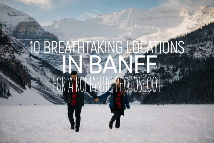 Best locations wedding shoot banff