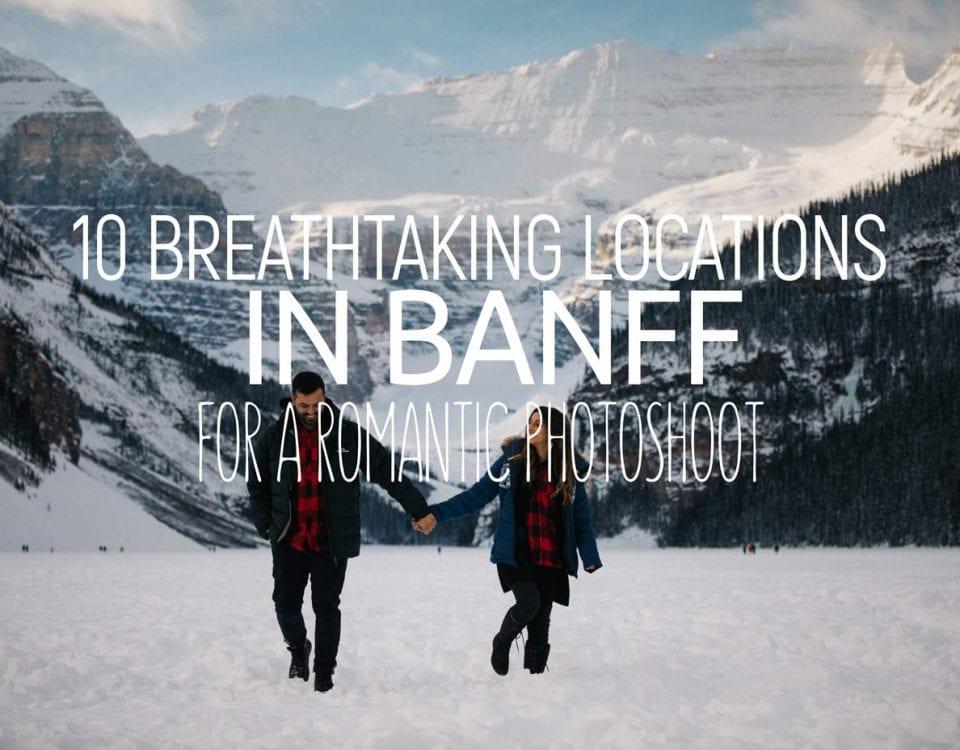 Best locations wedding shoot banff