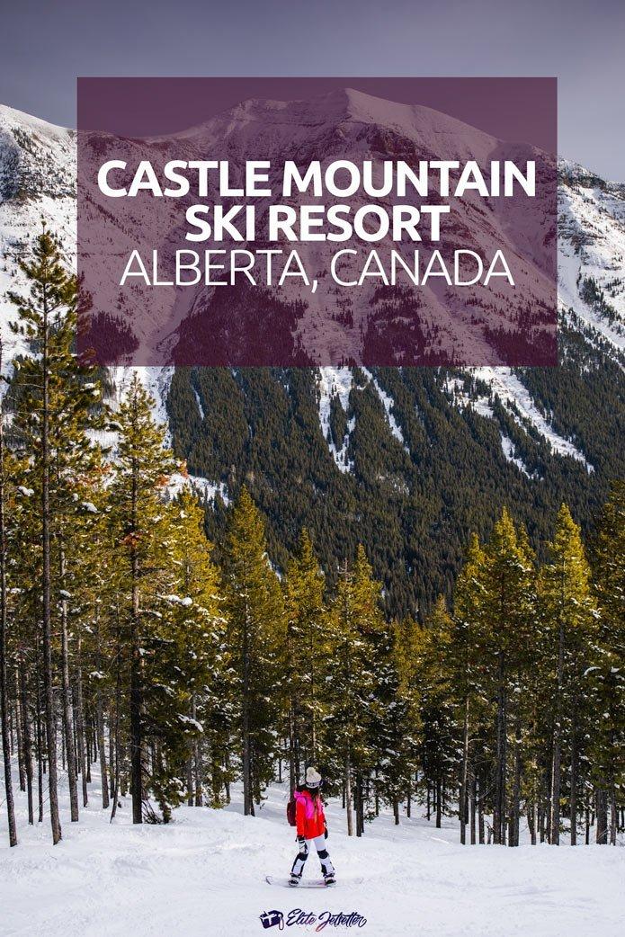 castle mountain ski resort alberta canada