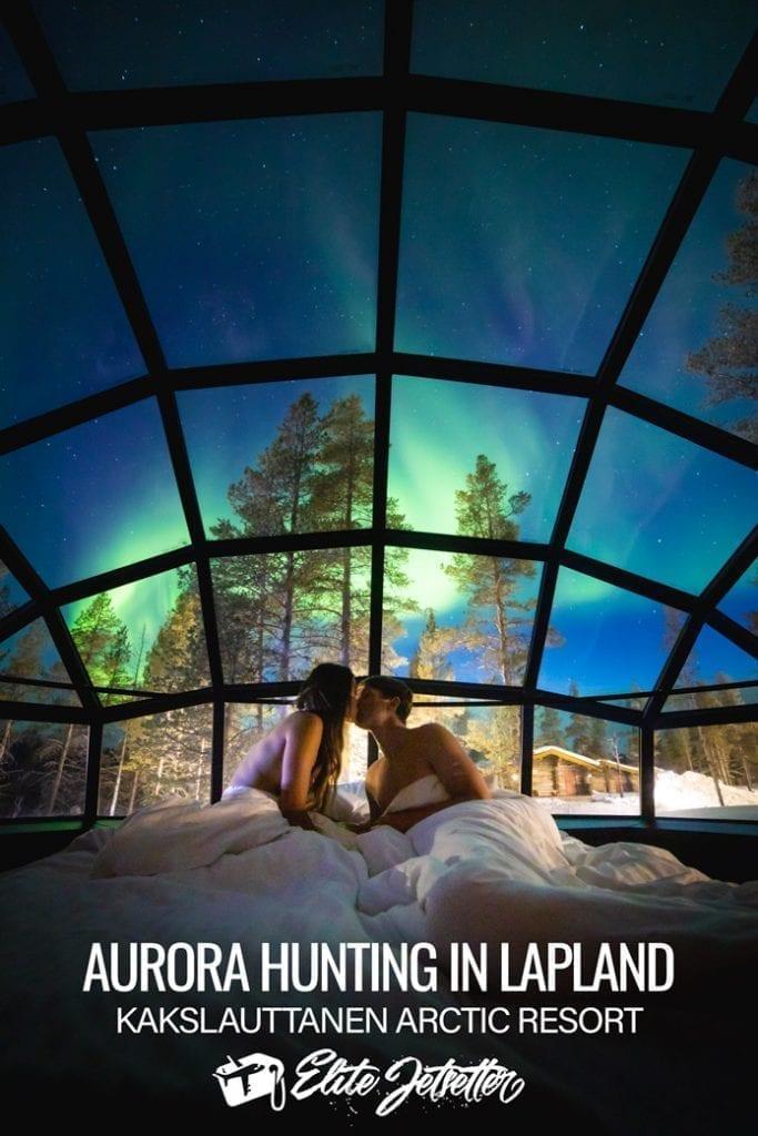 Aurora Finland igloo hotel