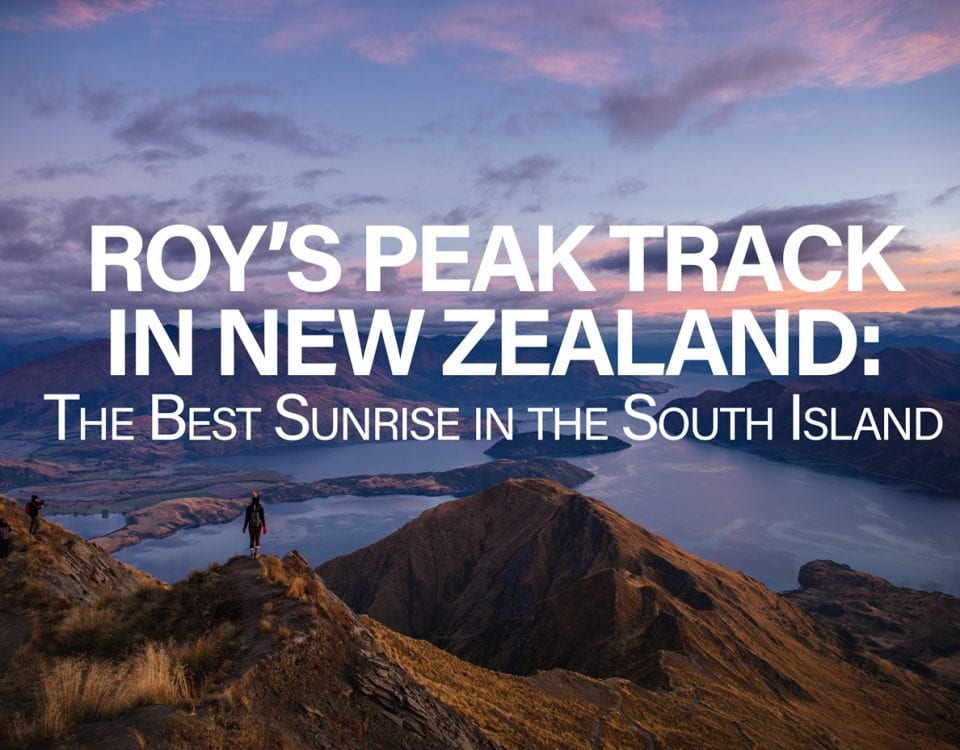 Roy's Peak Track New Zealand