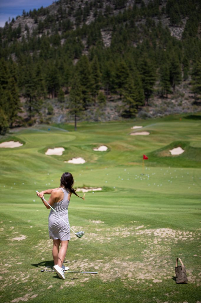 Clear Creek Golf Course LAke Tahoe